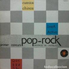 Discos de vinilo: PRIMER CONCURS POP ROCK CASTELLON. TURBOESCAPE TEM-602 (D). 1985. NUEVO . Lote 191509885