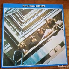 Discos de vinilo: THE BEATLES 1967-1970 DOBLE LP 1973 APPLE RECORDS 1J162-05.3093 GATEFOLD SPAIN ESPAÑA. Lote 191512648