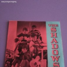 Discos de vinilo: JOYA EP. THE SHADOWS ‎– THE SHADOWS. APACHE + 3. SELLO: COLUMBIA ‎– SLEM 2114.PORTUGAL. AÑO 1962 ? . Lote 191512821