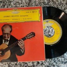 Discos de vinilo: ANDRÉS SEGOVIA.INTERPRETA GRANADOS.ALBENIZ.SCARLATTI.1961. Lote 191518872