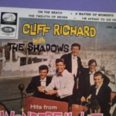 Discos de vinilo: EP SPAIN 1964. CLIFF RICHARD & THE SHADOWS ‎– WONDERFUL LIFE SELLO:LA VOZ DE SU AMO ‎– 7EPL 14.124. Lote 191520018