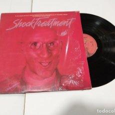 Discos de vinilo: SHOCK TREATMENT LP 1981. Lote 191523697