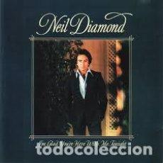 Discos de vinilo: NEIL DIAMOND – I'M GLAD YOU'RE HERE WITH ME TONIGHT . Lote 191523900