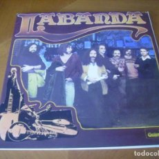 Discos de vinilo: LP : LA BANDA / RARO 1980 EX PORTADA DOBLE GUINBARDA. Lote 191526078