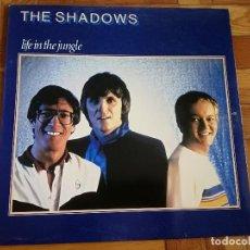 Discos de vinilo: THE SHADOWS LIFE IN THE JUNGLE - 1982 - LP VINILO PERFECTO ESTADO. Lote 191531240