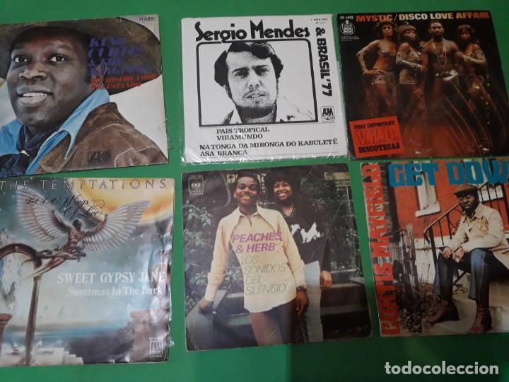 Discos de vinilo: lote funk singels - Foto 6 - 191532905