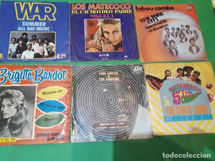 Discos de vinilo: lote funk singels - Foto 9 - 191532905