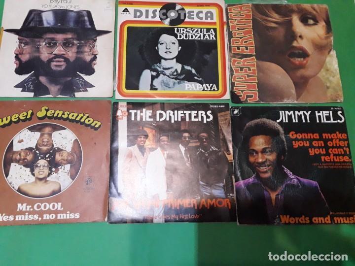 Discos de vinilo: lote funk singels - Foto 10 - 191532905