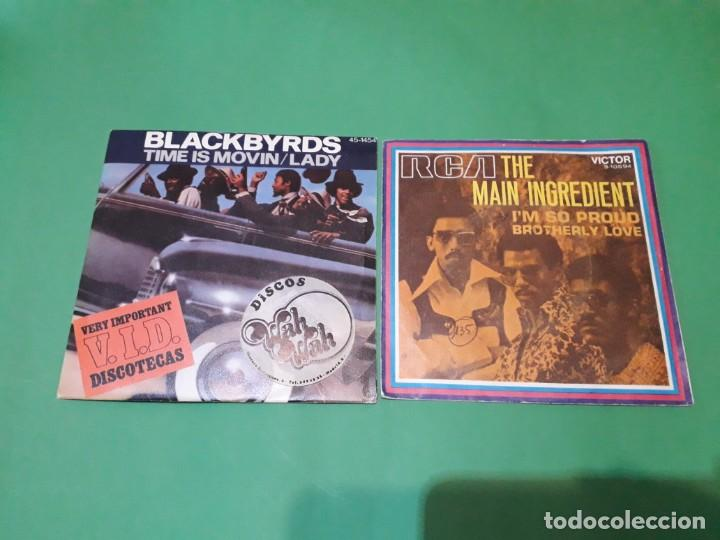 Discos de vinilo: lote funk singels - Foto 11 - 191532905