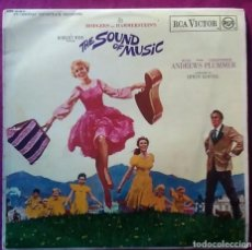 Discos de vinilo: DISCO LP VINILO THE SOUND OF MUSIC JULIE ANDREWS SONRISAS Y LÁGRIMAS AÑO 1965. Lote 191536836