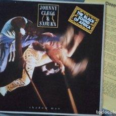 Discos de vinilo: JOHNNY CLEGG & SAVUKA - SHADOW MAN. LP EDICIÓN ESPAÑOLA. Lote 191544747
