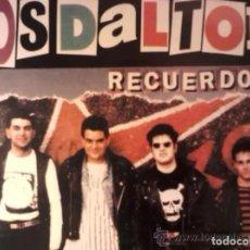Discos de vinilo: LOS DALTON RECUERDOS LP BASATI 1993 DEDICADO ALA MEMORIA JOSU Y JUALMA ESKORBUTO JOYA PUNK BARAKALDO. Lote 189602917