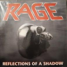 Discos de vinilo: DISCO VINILO RAGE-REFLECTIONS A SHADOW.. Lote 191555512