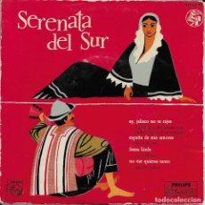 Discos de vinilo: SERENATA DEL SUR VARIOS ARTISTAS PHILIPS 1958. Lote 191556745