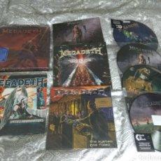 Discos de vinilo: MEGADETH LP VINILO LOTE. Lote 191557128