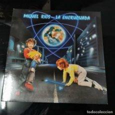 Discos de vinilo: LP LA ENCRUCIJADA, MÍGUEL RIOS, 1984. Lote 191557195