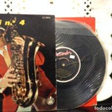 Discos de vinilo: DELLE HAENSCH ETC... - TUTTIFRUTTI Nº 4 VINYL 10' SPAIN 33 0016 HISPAVOX. NM / M. Lote 191557455
