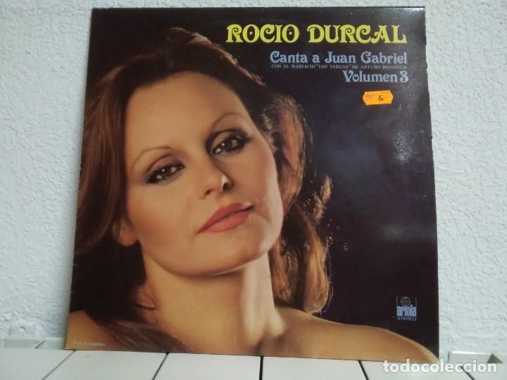 ROCÍO DURCAL (Música - Discos - LP Vinilo - Solistas Españoles de los 50 y 60)