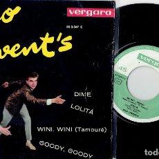 Discos de vinilo: DUO JUVENTS GOODY GOODY / DIME / WINI WINI / LOLITA EP VERGARA 1963. Lote 191557745