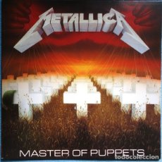 Discos de vinilo: METALLICA – MASTER OF PUPPETS -LP / VERTIGO-. Lote 254774350