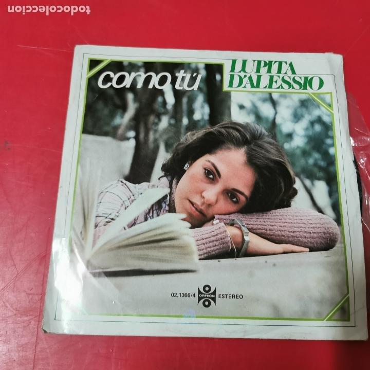 LUPITA D'ALESSIO - COMO TÚ MUY RARO AÑO 1978 EDITA MOVIEPLAY (Música - Discos de Vinilo - EPs - Grupos y Solistas de latinoamérica)