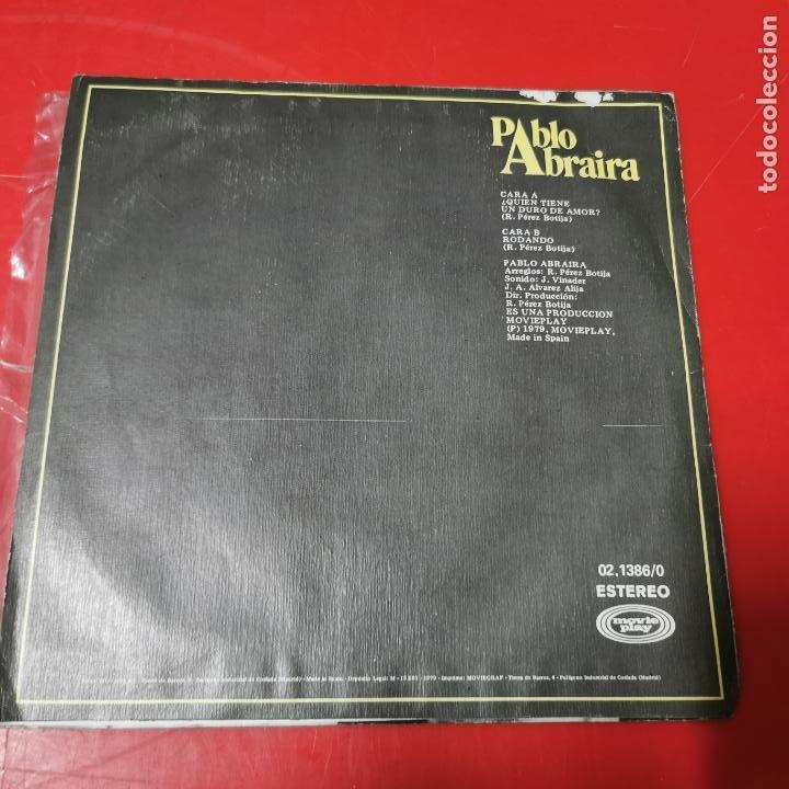 Discos de vinilo: PABLO ABRAIRA - QUIEN TIENE UN DURO DE AMOR? - Foto 2 - 191570931