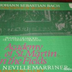 Discos de vinilo: LOTE DISCOS DE VINILO EDICION BEETHOVEN-9 SINFONÍAS -8 ,J.S.BACH-CONCERTOS DE BRANDEBURGO-PRIMERA.... Lote 191577126