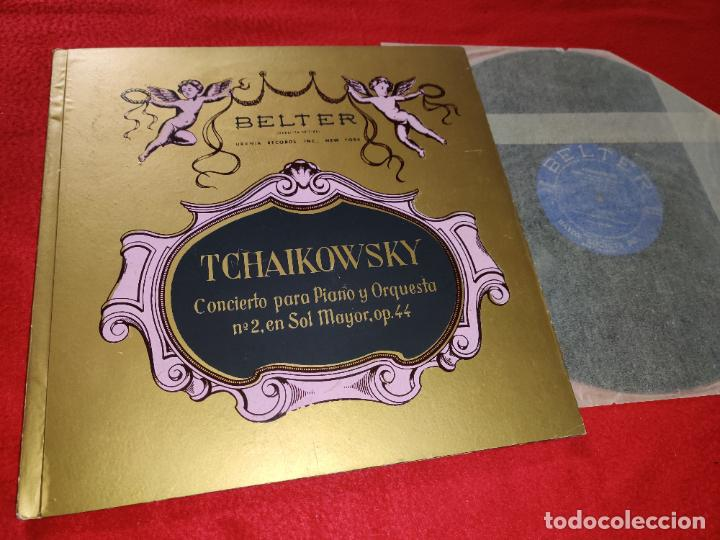 TCHAIKOVSKY PIANO 2 SOL MAYOR OP.44 MARGOT PINTER ORQ.RADIO BERLIN LP 195? BELTER SPAIN ESPAÑA (Música - Discos - LP Vinilo - Clásica, Ópera, Zarzuela y Marchas)
