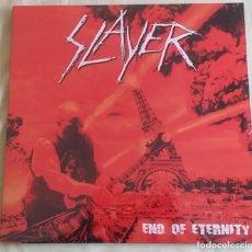 Discos de vinilo: SLAYER END OF ETERNITY LP. Lote 191583027