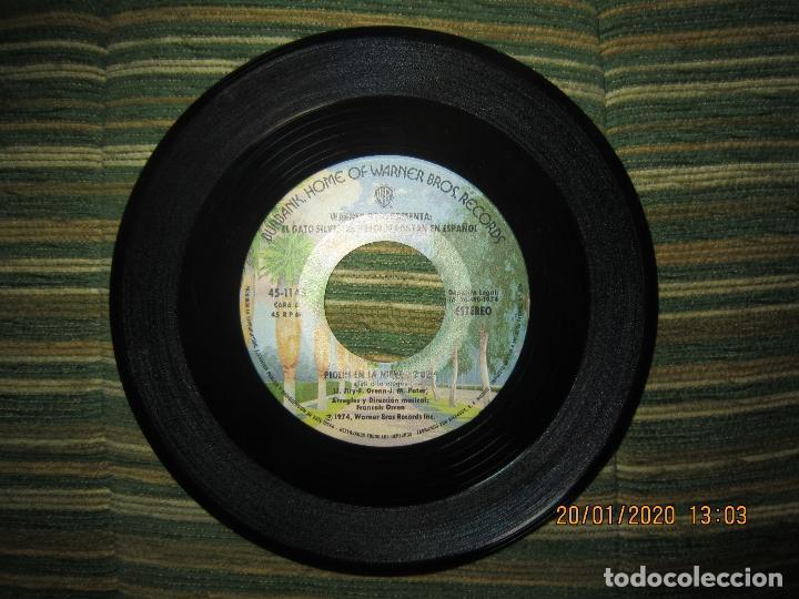 Discos de vinilo: EL GATO SILVESTRE Y PIOLIN - PIOLIN EN LA NIEVE SINGLE ORIGINAL ESPAÑOL - WARNER 1974 - STEREO - - Foto 3 - 191596832