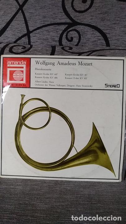 WOLFGANG AMADEUS MOZART_–HORNKONZERTE (Música - Discos de Vinilo - Maxi Singles - Clásica, Ópera, Zarzuela y Marchas)