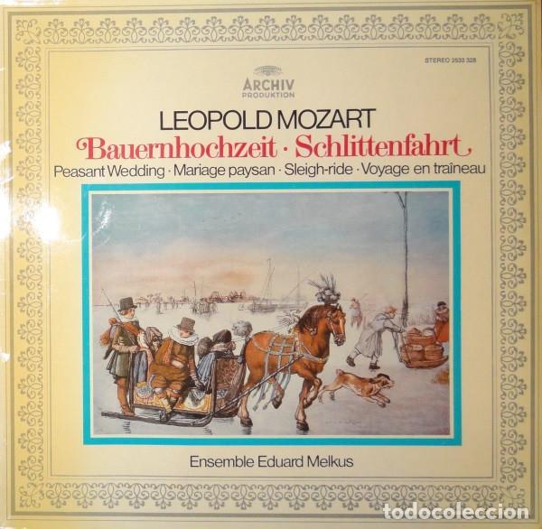 LEOPOLD MOZART-ENSEMBLE EDUARD MELKUS_–BAUERNHOCHZEIT - MUSIKALISCHE SCHLITTENFAHRT (Música - Discos de Vinilo - Maxi Singles - Clásica, Ópera, Zarzuela y Marchas)