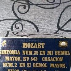 Discos de vinilo: MOZART - SINFONIA Nº39 EN MI BEMOL MAYOR KV 543. Lote 191604216