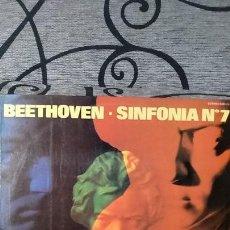 Discos de vinilo: BEETHOVEN* /ORQUESTA FILARMONICA DE VIENA* DIRIJIDA PORHERBERT VON KARAJAN_–SINFONÍA Nº 7, OP. 9. Lote 191604231