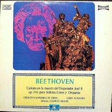 Discos de vinilo: BEETHOVEN*_–CANTATA EN LA MUERTE DEL EMPERADOR JOSÉ II. Lote 191604236