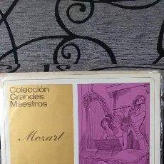 Discos de vinilo: MOZART - DOS CONCIERTOS PARA VIOLIN Y ORQUESTAS RE MAYOR KV 211 / SOL MAYOR KV 216. Lote 191604246