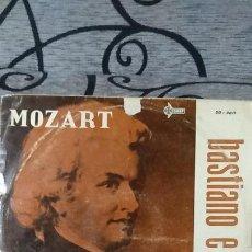 Discos de vinilo: MOZART - BASTIANO E BASTIANA. Lote 191604251