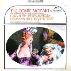 Discos de vinilo: MOZART*,ERIKA KÖTH,PETER SCHREIER,HERMANN PREY,WALTER BERRY,CONVIVIUM MUSICUM OF MUNICH,ERICH . Lote 191604266