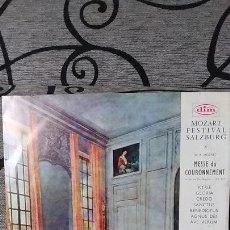 Discos de vinilo: MOZART - MISA DE LA CORONACION Nº16 EN DO MAYOR KV317. Lote 191604275