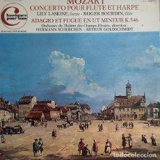 Discos de vinilo: MOZART* -LILY LASKINE,ROGER BOURDIN,ORCHESTRE DU THÉÂTRE DES CHAMPS-ELYSÉESDIRECTION :HERMANN S. Lote 191604283