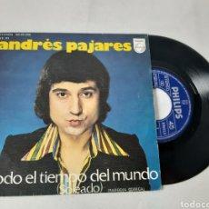 Discos de vinilo: ANDRES PAJARES. TODO EL TIEMPO DEL MUNDO. MADAME GIGI... Lote 191604802