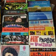 Discos de vinilo: LOTE DE 30 RAROS LPS DE MUSICA LATINOAMERICANA -. Lote 191606561