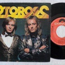 Discos de vinilo: 2 TOROS 2 - TODO ME VA MAL / HAZME EL AMOR - SINGLE 1987 - POLYDOR. Lote 191607971