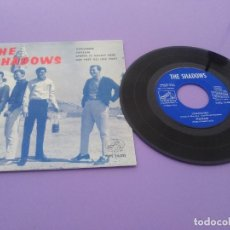 Discos de vinilo: EP. AÑO THE SHADOWS.GERONIMO/SHAZAM/SPRING IS NEARLY HERE + 3.LA VOZ DE SU AMO 7EPL 14.021. AÑO 1964. Lote 191611032