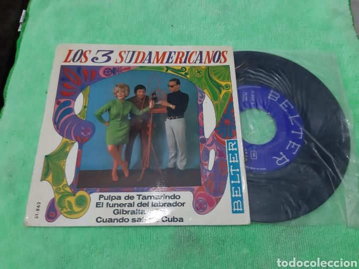 EP LOS SUDAMERICANOS. PULPA DE TAMARINDO. 3 TEMAS. BELTER (Música - Discos de Vinilo - EPs - Grupos y Solistas de latinoamérica)