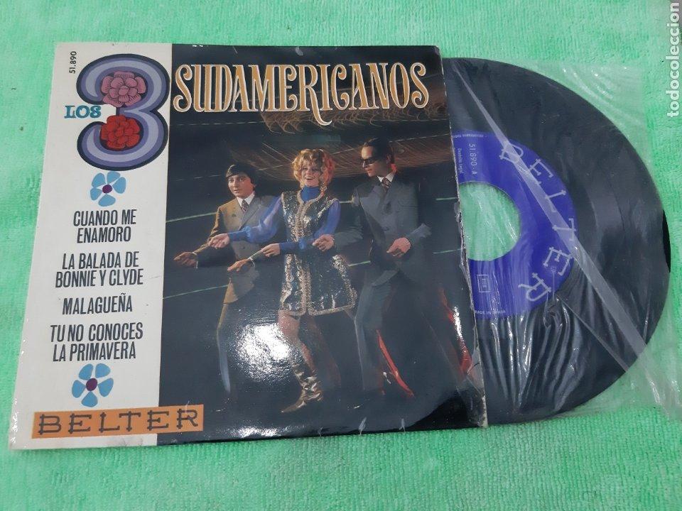 EP LOS 3 SUDAMERICANOS. BELTER. (Música - Discos de Vinilo - EPs - Grupos y Solistas de latinoamérica)