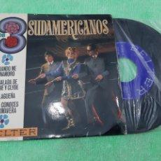 Discos de vinilo: EP LOS 3 SUDAMERICANOS. BELTER.. Lote 191612637