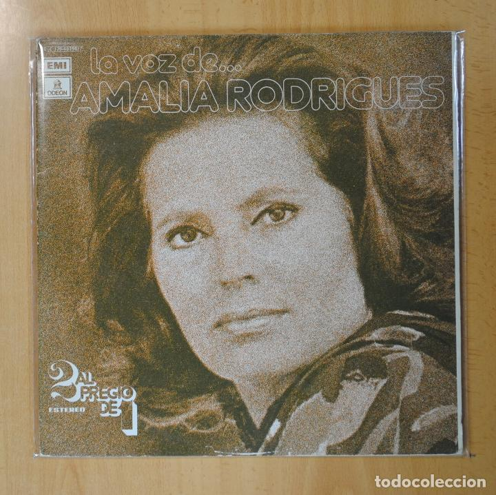 AMALIA RODRIGUES - LA VOZ DE... AMALIA RODRIGUES - 2 LP (Música - Discos - LP Vinilo - Grupos y Solistas de latinoamérica)