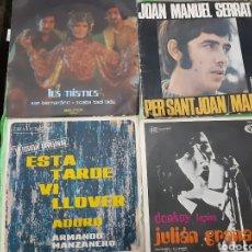 Discos de vinilo: LOTE DE SINGLES. 4 UNIDADES.. Lote 191614411