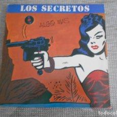 Discos de vinilo: VINILO LP DE LOS SECRETOS AÑO 1983 TITULO - ALGO MAS. Lote 191617688